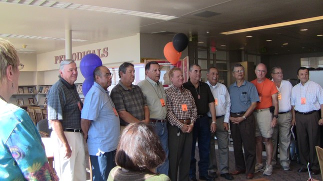 Vietnam War Veterans at EPHS66 Reunion 2011